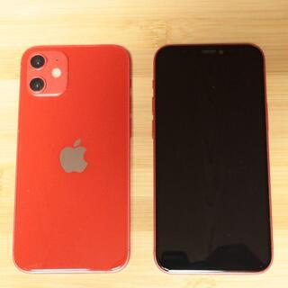 iPhone12mini レッド スマホモックアップ  展示品 サンプル(その他)