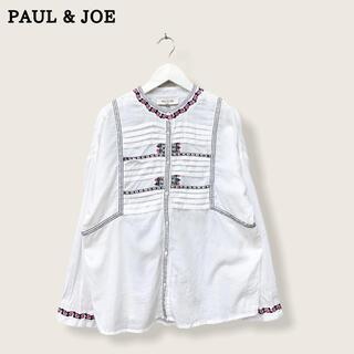 PAUL & JOE - 【PAUL & JOE】刺繍ブラウス ポール&ジョー
