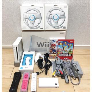 Wii - 任天堂 Wii  豪華セット✨ リモコン・ヌンチャク・ソフト付き 動作確認済み
