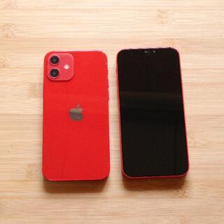 iPhone12 レッド スマホモックアップ  展示品 サンプル(その他)