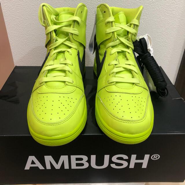 NIKE(ナイキ)のAMBUSH NIKE DUNK HI アンブッシュ ナイキ ダンクハイ 28 メンズの靴/シューズ(スニーカー)の商品写真