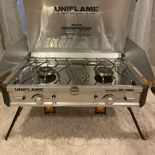 UNIFLAME - ユニフレーム ツインバーナー US-1900