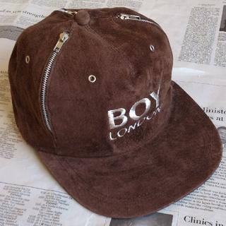 ボーイロンドン(Boy London)の◆B1 入手困難 当時物 BOY LONDON ボーイロンドン キャップ 茶(キャップ)