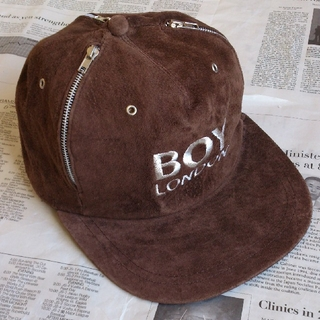 Boy London - ▲B1 入手困難 当時物 BOY LONDON ボーイロンドン キャップ 茶