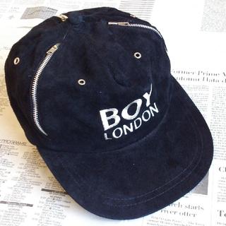 ボーイロンドン(Boy London)の◆B1 入手困難 当時物 BOY LONDON ボーイロンドン キャップ 黒(キャップ)