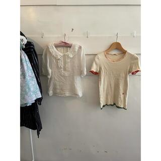 クロエ(Chloe)のChloé frill blouse.(シャツ/ブラウス(長袖/七分))