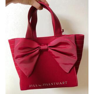 JILL by JILLSTUART - ジルバイジルスチュアートマッシブリボントートバッグ(S)