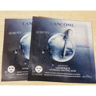 LANCOME - ランコム ジェニフィックアドバンスト ハイドロジェル メルティングマスク