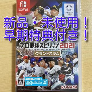 Nintendo Switch - プロ野球スピリッツ 2021 switch