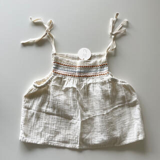 キャラメルベビー&チャイルド(Caramel baby&child )の【新品未使用】liilu キャミソール 4y-6y(Tシャツ/カットソー)