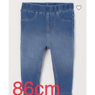 エイチアンドエム(H&M)のデニムパンツ デニンス 86cm (パンツ)