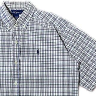 POLO RALPH LAUREN - 90's POLO Ralph Lauren ポロラルフローレン BDシャツ