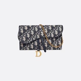 Dior -  DIOR 新品 サドル バッグ チェーンバッグ