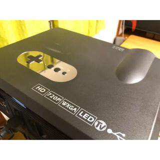 【値下げ可】LED プロジェクター CL720 HDMI RCA(プロジェクター)