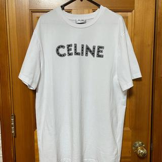 celine - セリーヌ ロゴTシャツ スタッズ付き Lサイズ