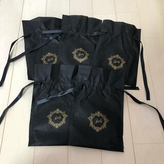 Rady - Rady レディー ショップ袋 ラッピング袋 保存袋 小物入れ ブラック 黒