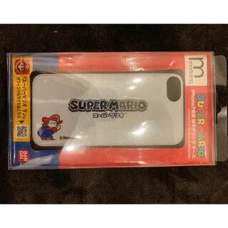 バンダイ(BANDAI)のハセ・プロ モデリングケース IP7 スーパーマリオ 01 マリオ MC7(iPhoneケース)