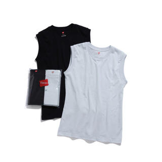 アダムエロぺ(Adam et Rope')のBiotop ヘインズ 別注 ノースリーブシャツ(Tシャツ(半袖/袖なし))