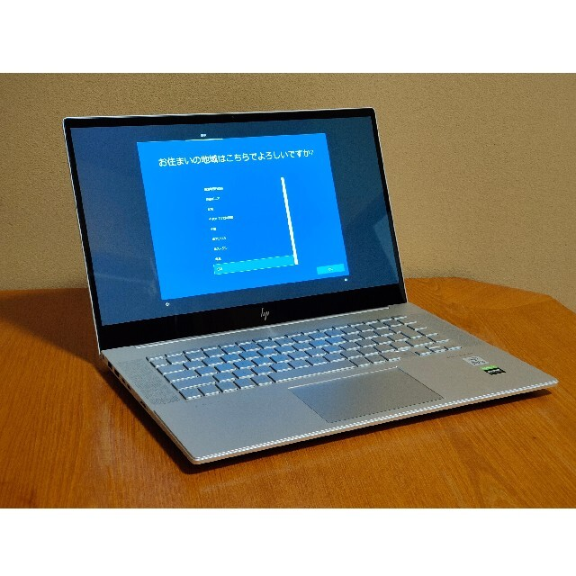 HP(ヒューレットパッカード)のhp envy 15 クリエイターモデル スマホ/家電/カメラのPC/タブレット(ノートPC)の商品写真