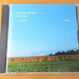 GEORGE WINSTON ジョージウィンストン オータム 【国内盤CD】(ヒーリング/ニューエイジ)