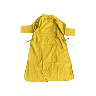 フォーティファイブアール(45R)のSaruche Muji Indian cotton Chinese クルタ(ロングワンピース/マキシワンピース)