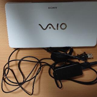 ソニー(SONY)のVAIO type P VGN-P70H/W カラーホワイト(本体、充電器のみ)(ノートPC)