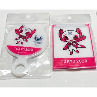 Tokyo 2020 Souvenirオリンピック 記念品★手鏡 2個