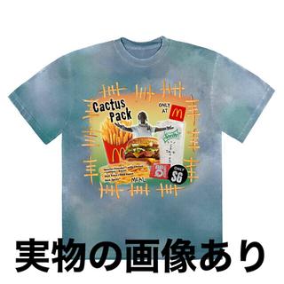 マクドナルド(マクドナルド)のXLサイズ Travis Scott x McDonald's コラボTシャツ❶(Tシャツ/カットソー(半袖/袖なし))