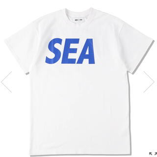 SEA - SEA S/S T-SHIRT / WHITE-BLUE