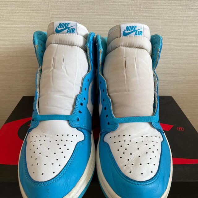 NIKE(ナイキ)のAIR JORDAN1 UNC メンズの靴/シューズ(スニーカー)の商品写真