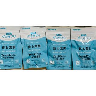 UHA味覚糖 - UHA味覚糖グミサプリ鉄&葉酸110日分