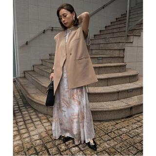 Ameri VINTAGE - 【s2y様専用】OTONA WRAP VEST SET UP DRESS