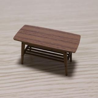 カリモクカグ(カリモク家具)のカリモク60ミニチュア リビングテーブル(小)(その他)