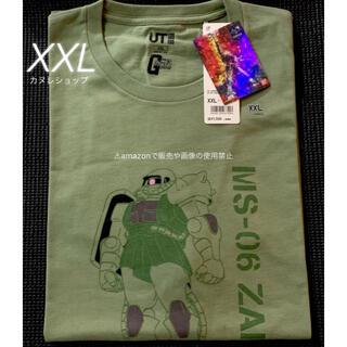 ユニクロ(UNIQLO)の【完売品】貴重 新品 XXL ガンダム コラボT ザクMS-06S ZAKUII(Tシャツ/カットソー(半袖/袖なし))
