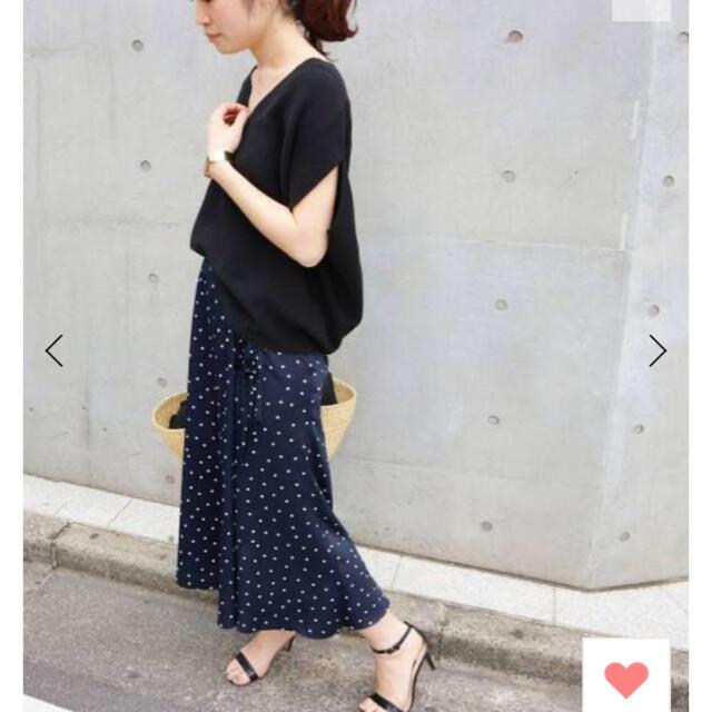 IENA(イエナ)のiena コットンストレッチ コクーンVネックプルオーバー レディースのトップス(カットソー(半袖/袖なし))の商品写真