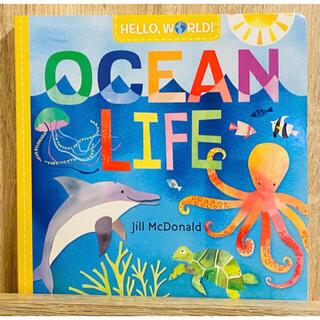 英語絵本 海の生き物 Hello,World! OCEAN LIFE(絵本/児童書)