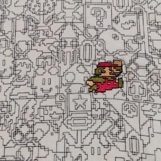ユニクロ(UNIQLO)のUNIQLO/ユニクロx任天堂 UTGP「スーパーマリオ」コラボTシャツ M(Tシャツ/カットソー(半袖/袖なし))