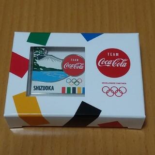 コカコーラ(コカ・コーラ)のコカコーラ ピンバッジ 静岡(ノベルティグッズ)