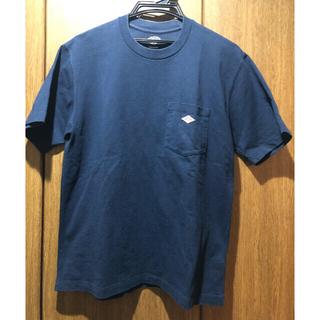 DANTON - ダントン Tシャツ 紺色