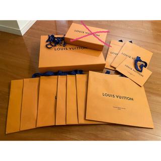 LOUIS VUITTON - 紙袋10枚 空箱1