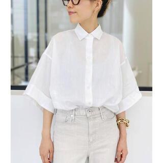 アパルトモンドゥーズィエムクラス(L'Appartement DEUXIEME CLASSE)のL'Appartement Ramie Half Sleeve Shirt(シャツ/ブラウス(長袖/七分))