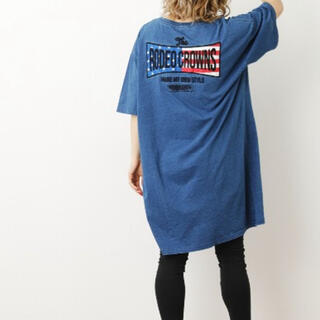 RODEO CROWNS WIDE BOWL - WEB限定US Tシャツワンピ レギンスセット