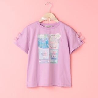 メゾピアノジュニア(mezzo piano junior)の新品 メゾピアノ シェル Tシャツ 150(Tシャツ/カットソー)