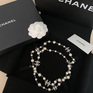 CHANEL - シャネル ロングパールネックレス