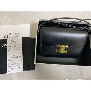 celine - 正規品 CELINE  トリオンフ ミディアム ショルダーバッグ