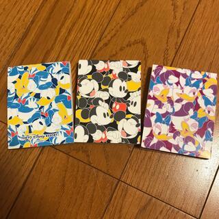 Disney - ディズニー メモ帳 3個セット