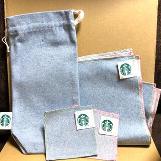 Starbucks Coffee - スターバックス アップサイクルコットングッズ 5点