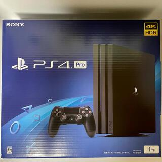 PlayStation4 - 【付属品完備】PS4 Pro 1tb ジェット・ブラック cuh-7200b