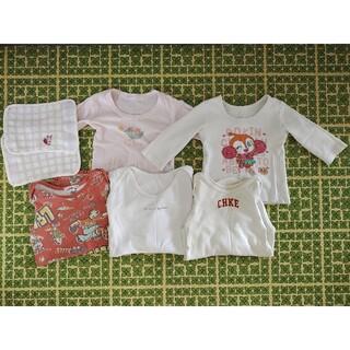 西松屋 - 女の子 長袖 肌着 まとめ売り 80 90