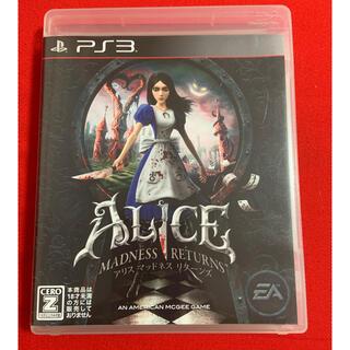 PlayStation3 - アリス マッドネス リターンズ プレステ3 PS3 ps3 即購入OK✨